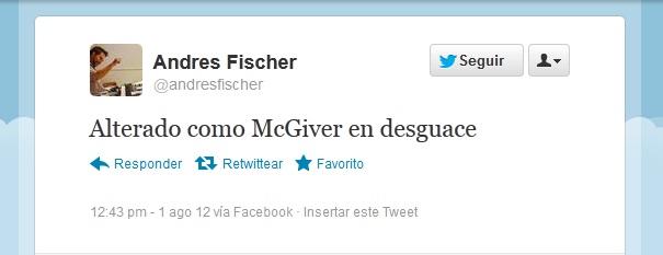 Alterado com McGiver en desguace