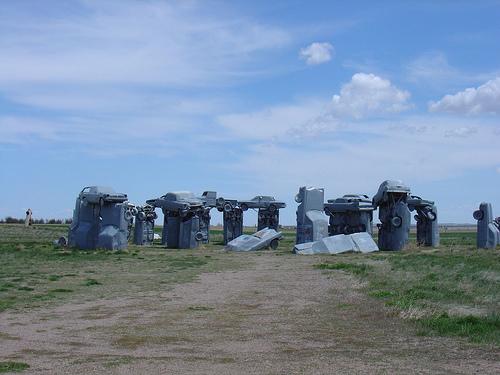 Carhenge: el Stonehenge americano realizado con coches reciclados
