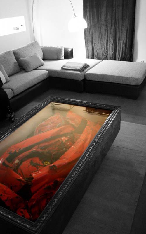 Ferrari en la mesa de tu salón