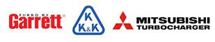marcas de recambios turbos: garret, kkk, mitsubishi turbocharger