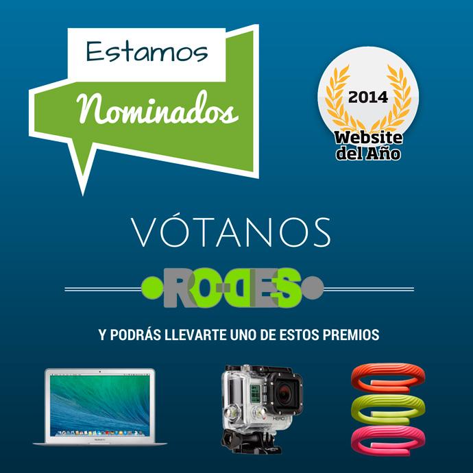 RO-DES nominados al premio WebSite del año