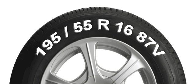 medidas rueda o neumático de coche