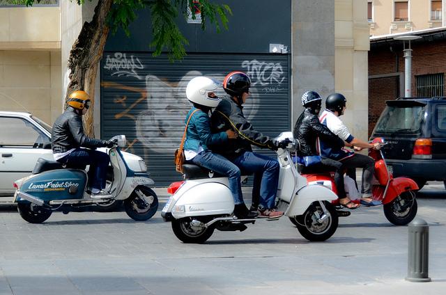 En moto, los viajes en grupo siempre planificados