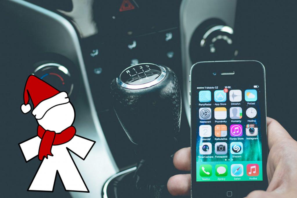 conducir teléfono móvil inocentada 2017