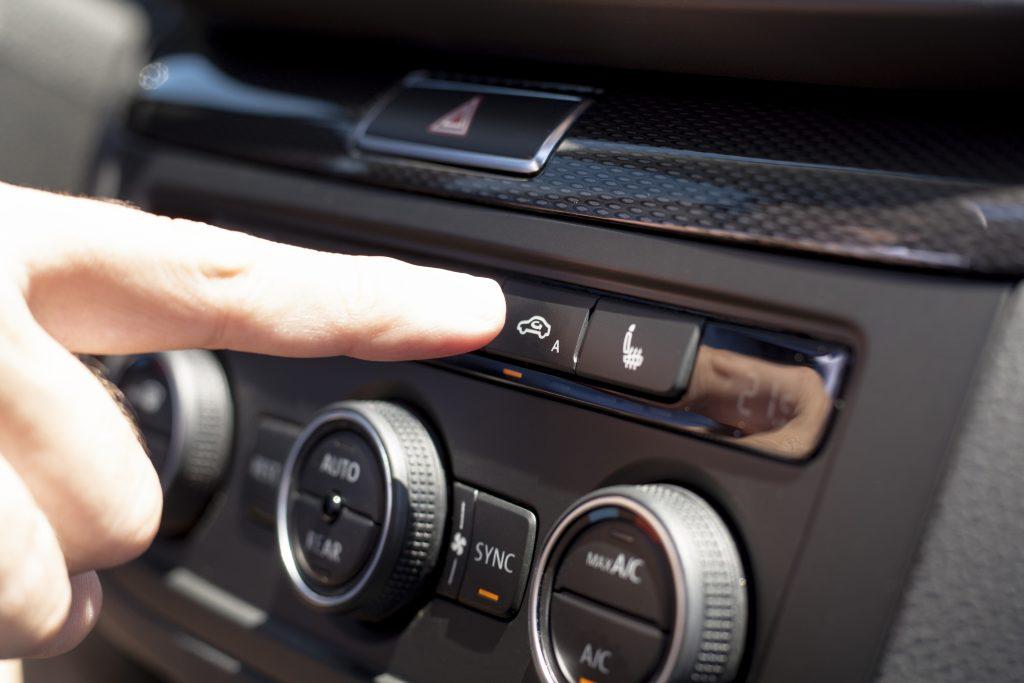 errores al usar el aire acondicionado del coche
