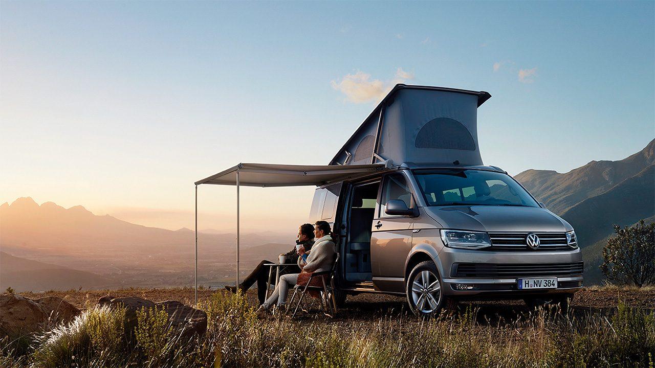viajar en furgoneta camper a la montaña
