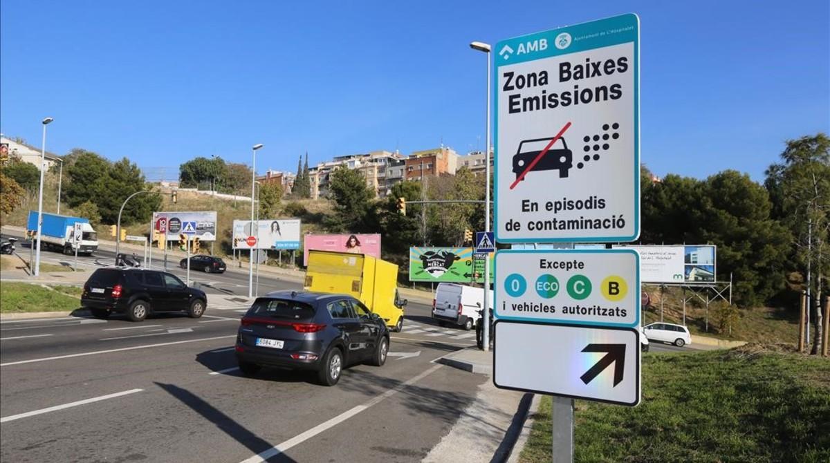 restricciones de circulación Hospitalet de Llobregat