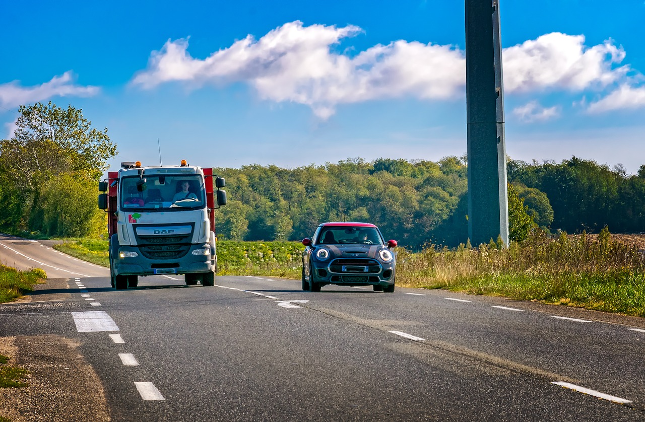 adelantamiento carretera