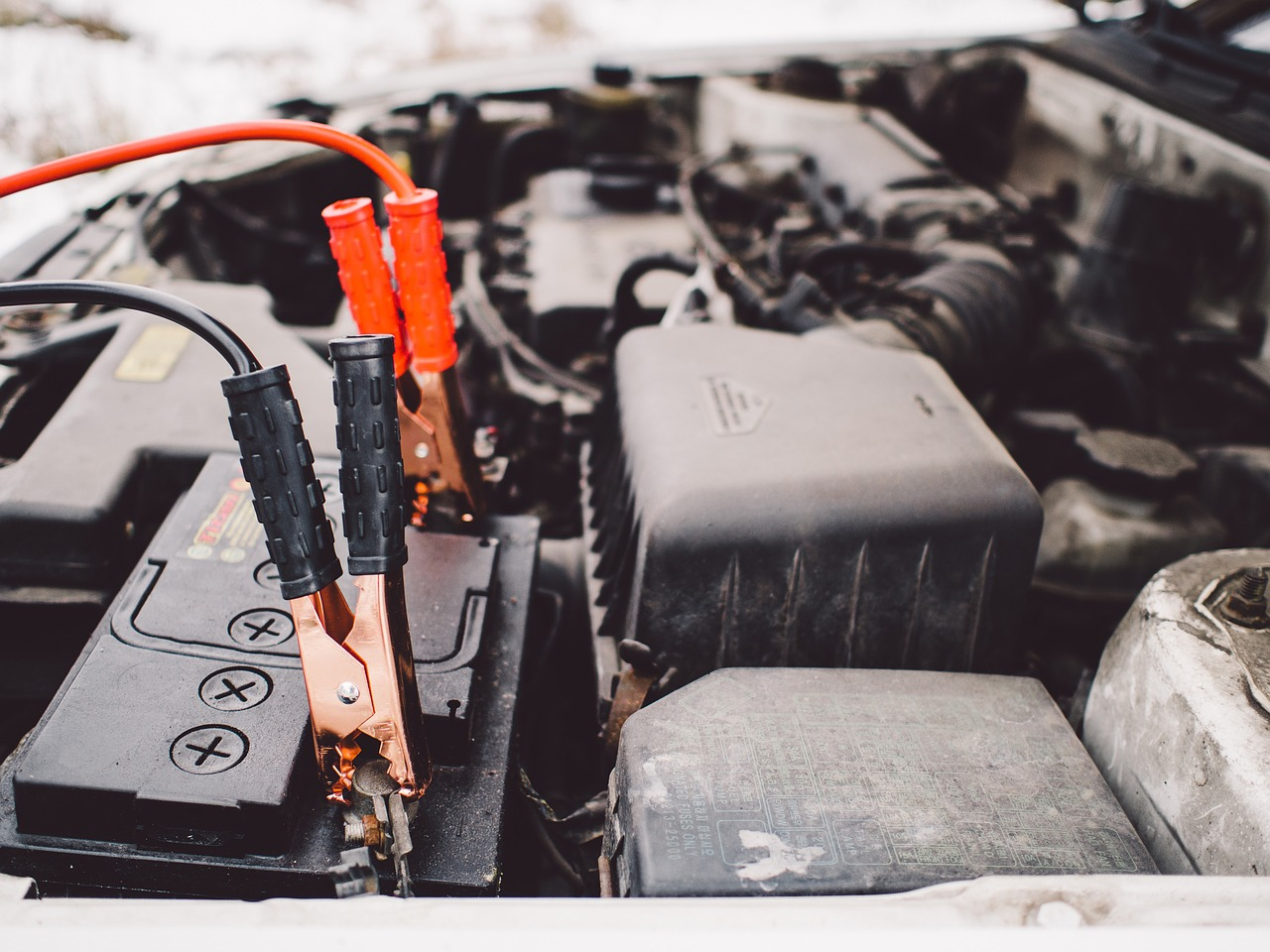 batería del coche