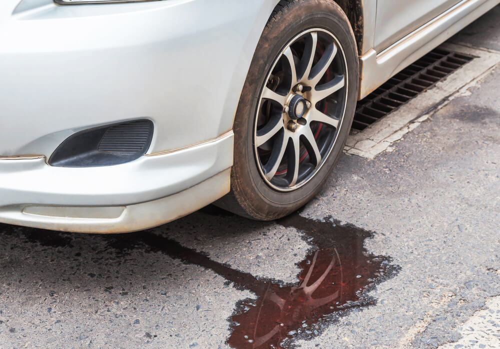 pérdidas de líquido hidráulico o líquido de dirección